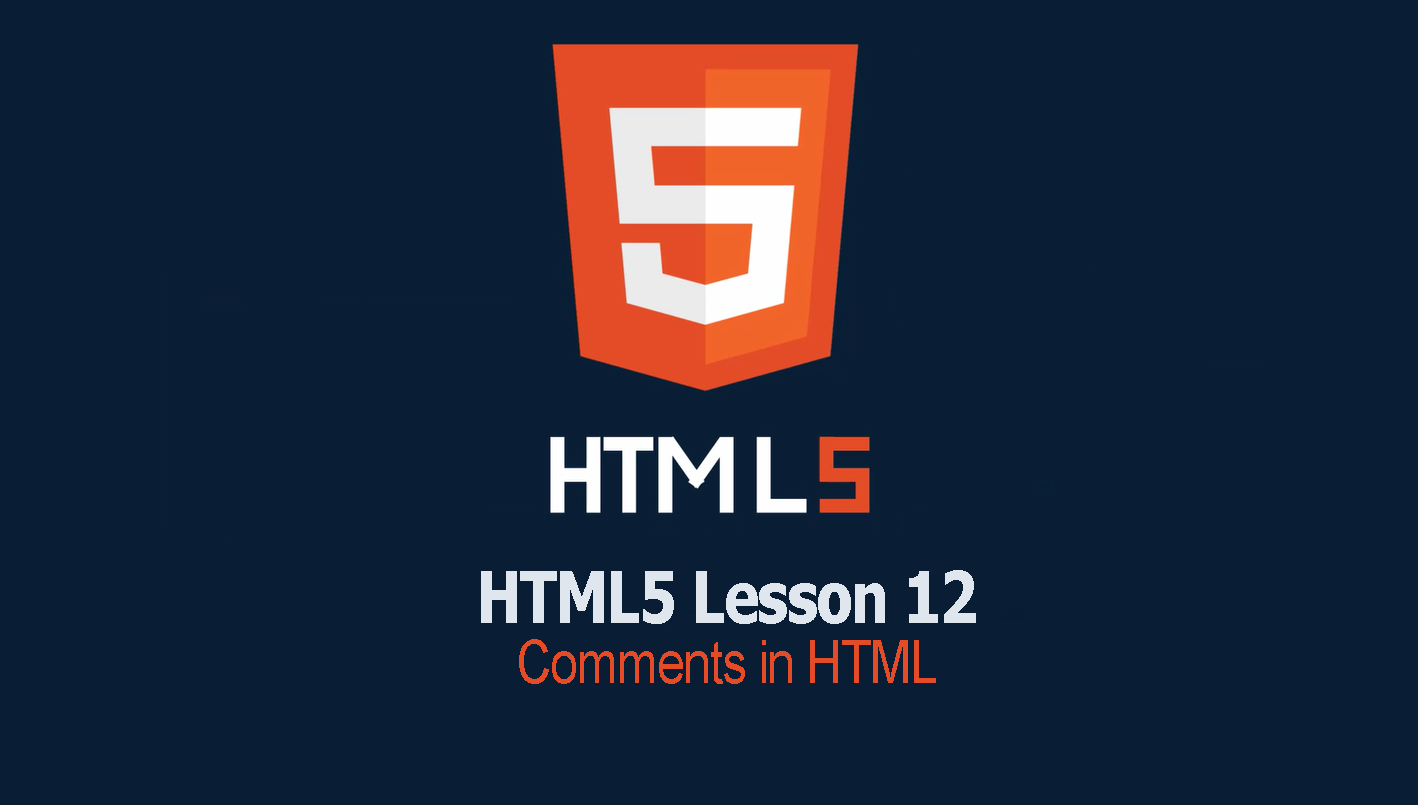HTML Comments | lesson 12 HTML Tutorial