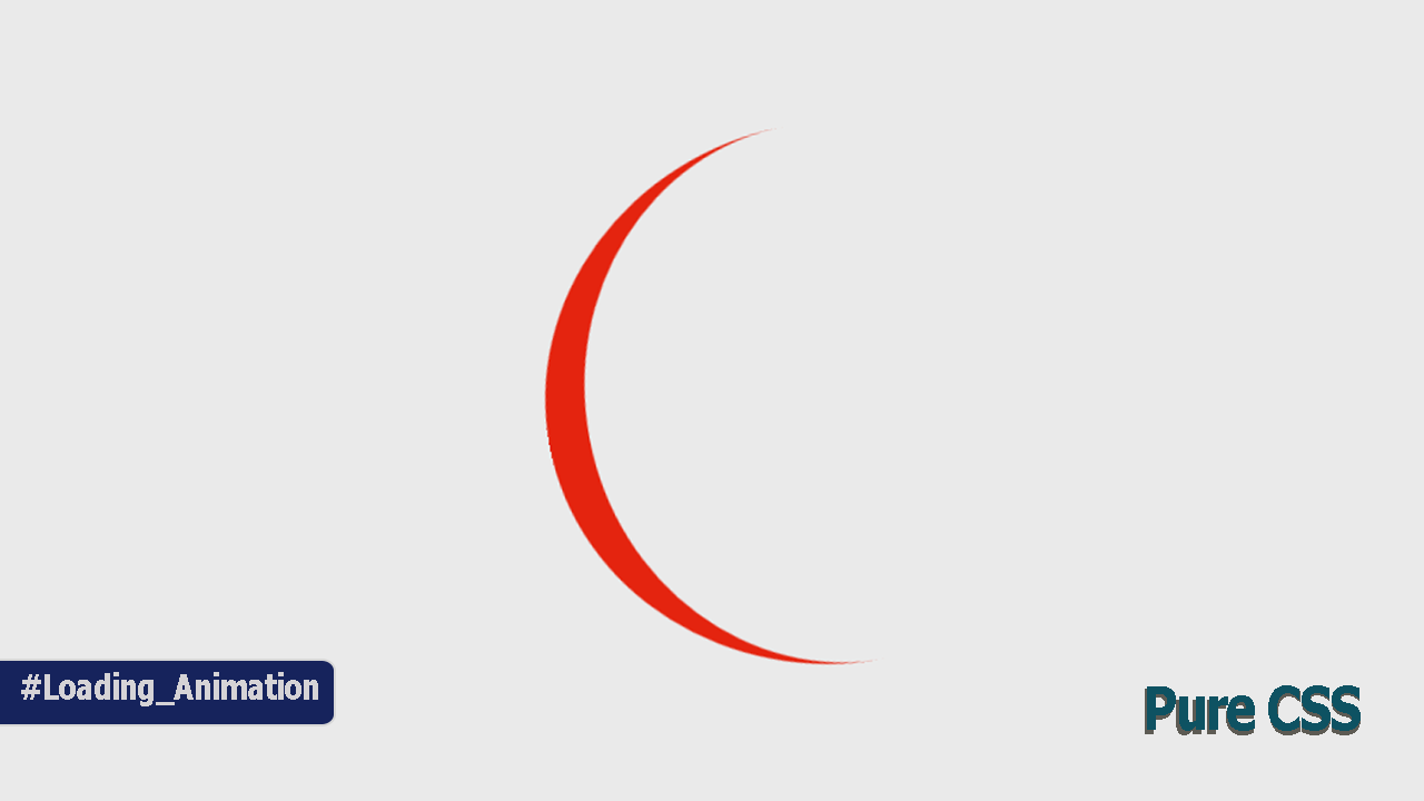 How to Create a Looping Red Curve with Only CSS and HTML Code?